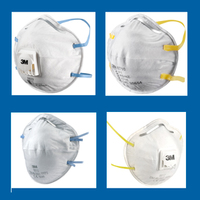 Classic Series Cup Shaped Respirators - Images